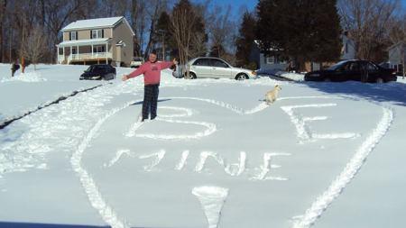 snow valentine's